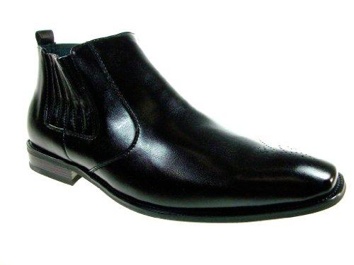 Ferro Mens Black Ankle Dress Classic Aldo on 606005A Chelsea Slip Boots RwBRnxZ
