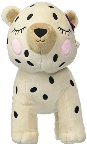 Gymboree Girls' Big Cheetah Plush Bag, tan spot, NS