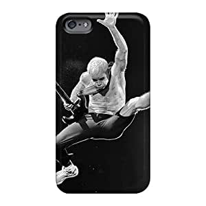 PhilHolmes Iphone 6 Scratch Protection Phone Cases Custom Realistic Red Hot Chili Peppers Skin [Smv3507GVKP]