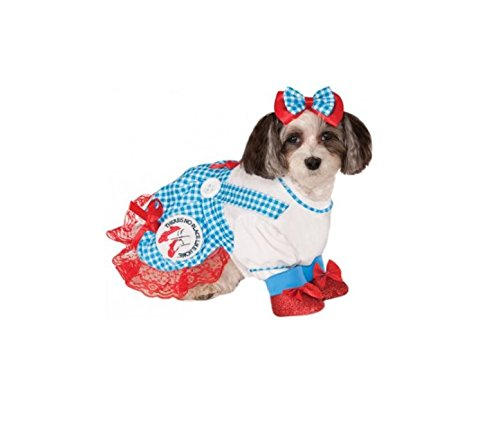 The Wizard Of Oz Dorothy Dog Costumes (Wizard of Oz Dorothy X-Large Pet Costume)