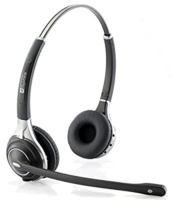 Premium Double Ear Ultra Noise Canceling Call Center / Office Headset & HIS QD Cable For Avaya IP 1608, 1616, 9601, 9608, 9611, 9611G, 9620, 9620C, 9620L, 9621, 9630, 9640 + many more