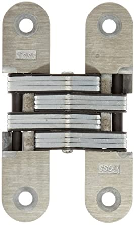 Soss 216 Zinc 20 Min Fire Rated Invisible Hinge With