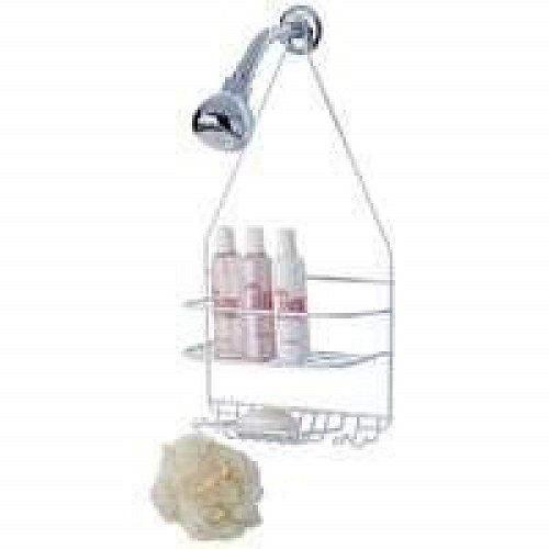 Homebasix Ss Sc 25 Pe 3l Small Shower Caddy White