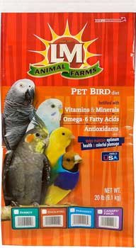 209 6-Piece Bonanza Can and Finch for Bird Cage (Bonanza Parakeet Gourmet Diet)