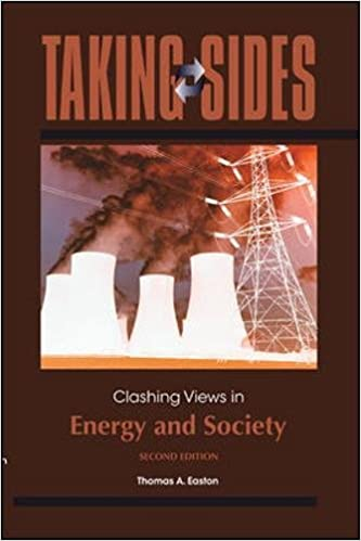 Taking Sides Clashing Views In Energy And