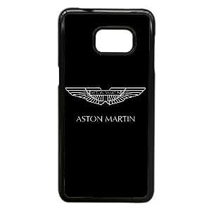Aston Martin Logo A5N45X8II funda Samsung Galaxy Note caso funda Edge 5 7A2OJV negro