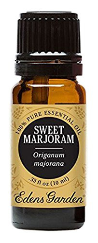 Edens Garden Sweet Marjoram 10 ml 100% Pure Undiluted Therapeutic Grade Essential Oil GC/MS Tested