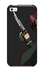 Premium RtNuylU7303vHvdK Case With Scratch-resistant/ Black Lagoon Case Cover For Iphone 5c