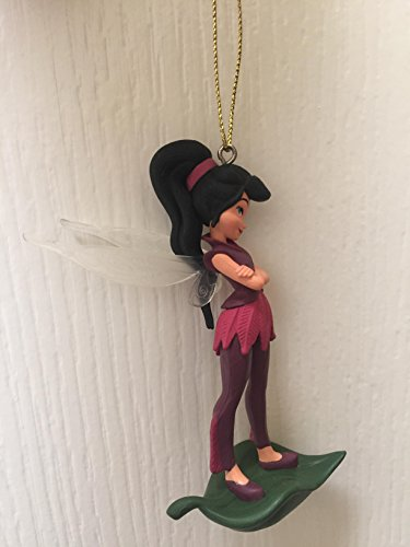 Disney Fairies Vidia 4'' PVC Figure Holiday Christmas Tree Ornament Figurine Doll Toy by Holiday Ornament (Image #2)