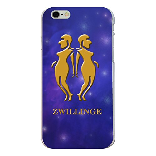 "Disagu Design Case Coque pour Apple iPhone 6 PLUS Housse etui coque pochette ""Zwillinge"""