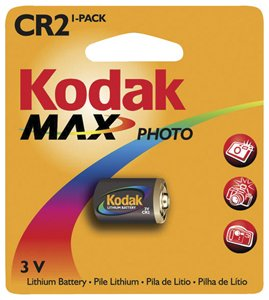 Kodak Max CR2 3V Lithium Battery - 1 Pack from Kodak
