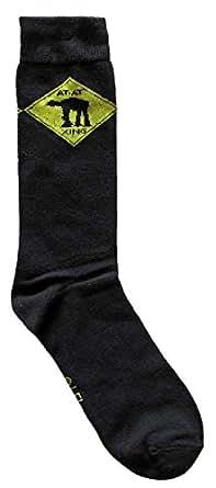 Star Wars Character Men's Crew Socks Shoe Size 6-12 (AT-AT)