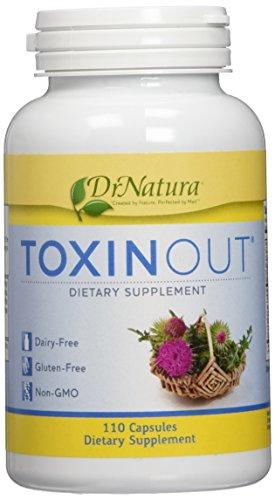 DrNatura Toxinout 110 caps product image