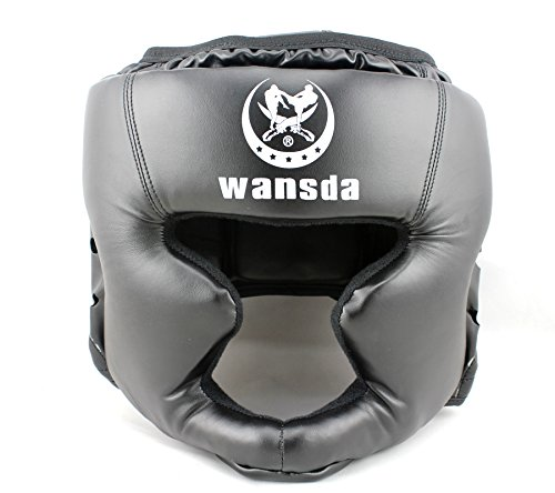 Boxing helmet Closed type boxing head guard Sparring MMA Muay Thai kick brace Head protection – Sports Center Store