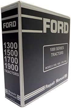 Ford 1300, 1500, 1700, 1900 Tractor Service Manual: Ford