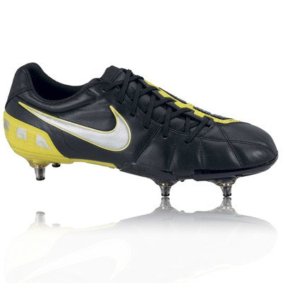Nike total90 Laser III K-SG Mens Football Boots 385422 007 Soccer Cleats Soft Ground (UK 6 US 7 EU 40) (Nike Mercurial Vapor Superfly Iii Fg All Black)