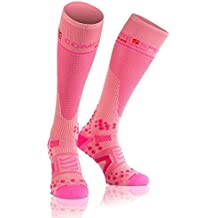 Full Socks V2.1 Compressport - Rosa 3M
