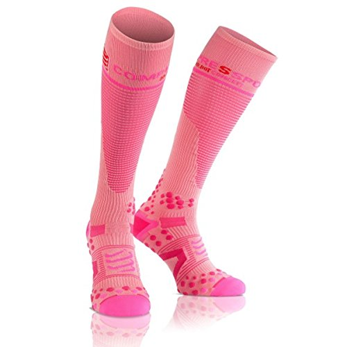 1 Full Compressport Unisex Calcetines Rosa V2 pRHPqg