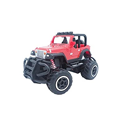 Children's Remote Control car Electric Wireless Remote Control Off-Road Vehicle Model boy Toy car: Toys & Games