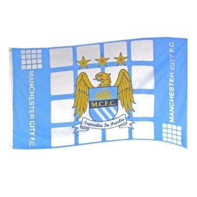 Manchester City FC Plaza PZ Flag