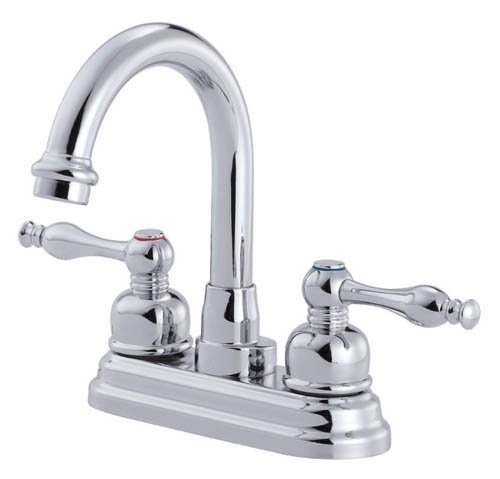 Danze D301255 Sheridan Two Handle Centerset High Rise Lavatory Faucet, Chrome by Danze