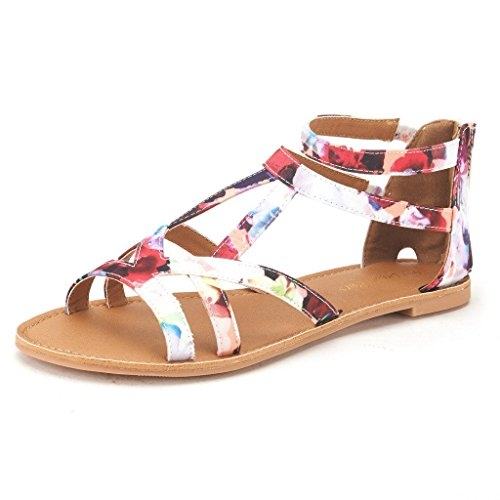 dream-pairs-sapha-womens-summer-trendy-print-gladiator-back-zipper-flat-fashion-sandals-white-size-9