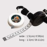 1.5 Meter Black tape measure Snails with