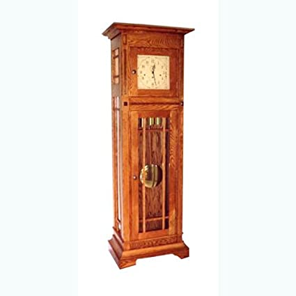 Build Your Own Mission Grandfather Clock Plan American Furniture
