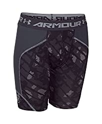 Under Armour Boys' UA Novelty Spacer Slider XS (7 Big Kids) x One Size White