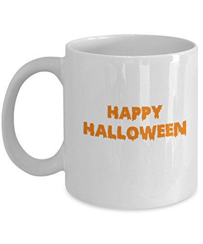 Happy Halloween Coffee Mug for your Halloween Party! Halloween Gift Witch Approved Coffee mugs Tea cup 11 OZ ()