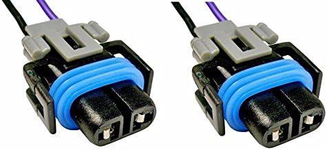 Connecteurs 2/x H11/H8/femelle Faisceau de c/âblage Sockets Fil phares Feux de Brouillard