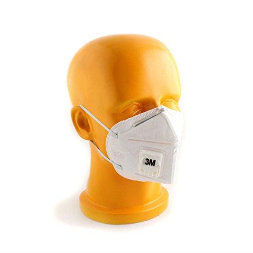 10/15/20pcs Brand New 3M 9001V KN90 Flu Virus Dust Mask Respirator (5) from Unknown