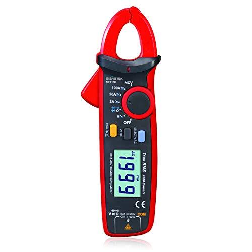 UT210E Handheld RMS AC/DC Mini Digital Clamp Meter Resistance Capacitance Tester