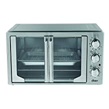 Oster TSSTTVFDXLPP-033 XL Convection Manual French Door Toaster Oven, Stainless Steel