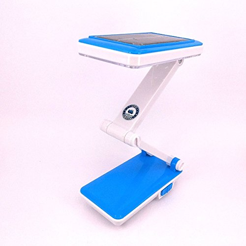 Price comparison product image UPD Desk Lamp: Modern LED And Solar Capable Lamps – Foldable Design For Flexible Use As Desk and Table Lights