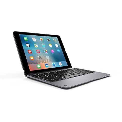Incipio ClamCase+ Keyboard/Cover Case for iPad Air 2 - Space Gray
