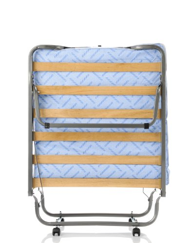 Milliard Super Strong Portable Twin Size Folding Rollaway Bed, with Wooden Slats...