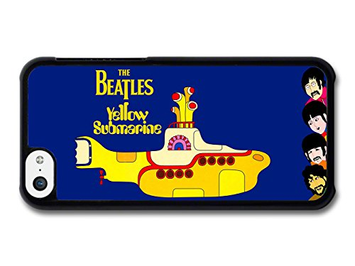 The Beatles Yellow Submarine Illustration coque pour iPhone 5C