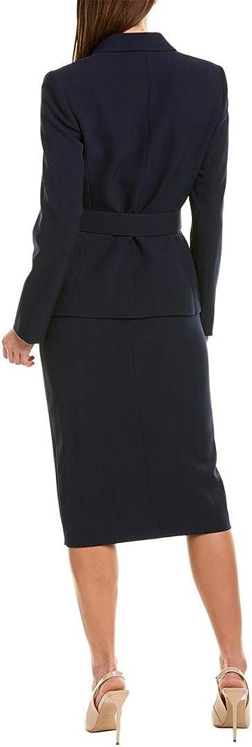 Tahari by ASL Belted Jacket w//Pencil Skirt Set
