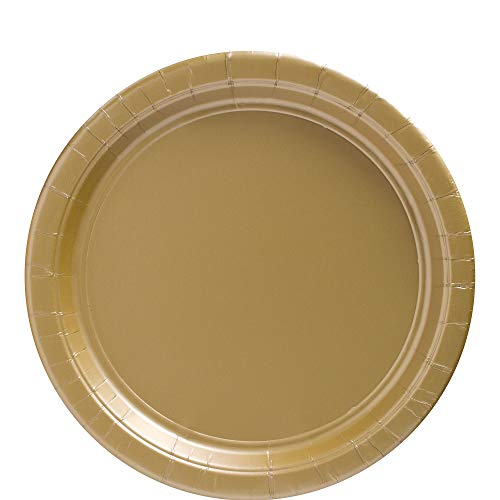 Big Party Pack Gold Paper Plates | 9