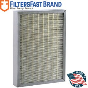 FiltersFast Compatible Replacement for Hunter 30936 QuietFlo HEPA Compatible Purifier Filter