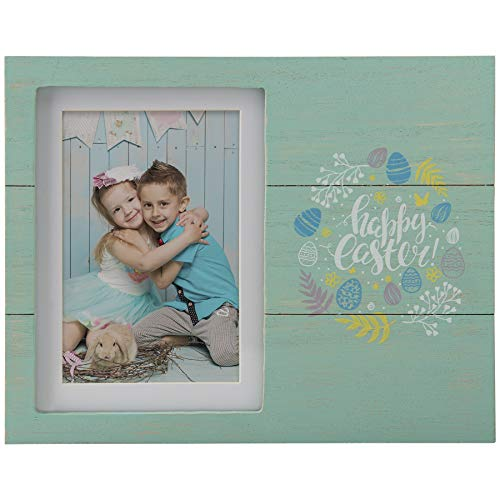 (Fine Photo Gifts Wood Happy Easter 5x7 Picture Frame )