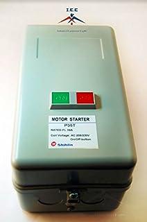 Magnetic Electric Motor Starter Control 5 Hp Single Phase 220/240v