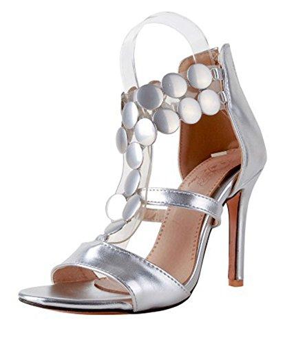 Sandalo Con Tacco A Spillo E Tacco A Spillo Da Donna A Punta Smanicata