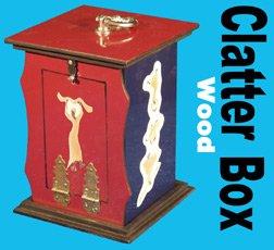 Clatter Box - Wood Clatter Box