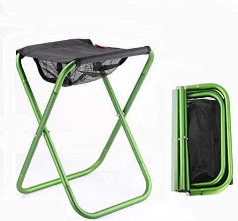 Yuwj Tabouret De Camping Pliant Portable Léger Extérieur