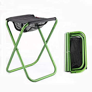 YUWJ Tabouret De Camping Pliant Portable Leger Exterieur Chaise Pliante Pas Cher Adapte Pour Pique