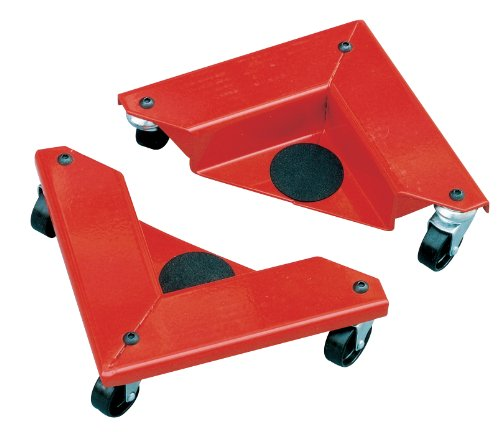 Hu-Lift AR150 Desk and Cabinet Corner Mover Dolly, 1320 Lb Capacity/4 Pieces, 10.5'' Length x 10.5 Width x 3.35'' Height (Case of 4) by i-Lift Equipment