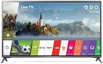 LG Electronics 65UJ6300 65-Inch 4K Ultra HD Smart LED TV (2017 Model)