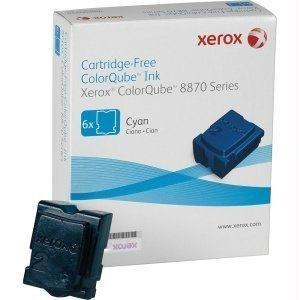 Xerox Xerox Colorqube Ink Cyan Colorqube 8870 (6 Sticks) North America - By